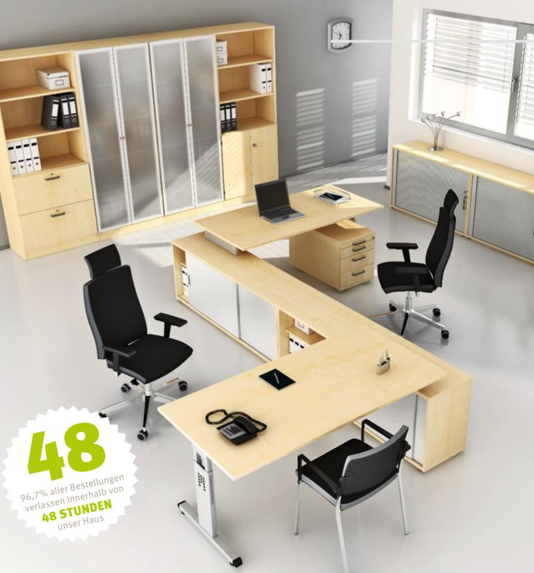 Büroausstattung von Hammerbacher *in 48 Stunden*