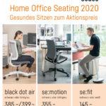 sedus: Home Office Seating 2020 – Gesundes Sitzen zum Aktionspreis