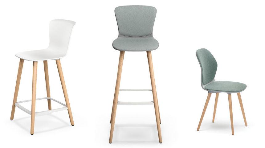 sedus se:spot stool – Barstuhl zum Arbeiten und Wohnen